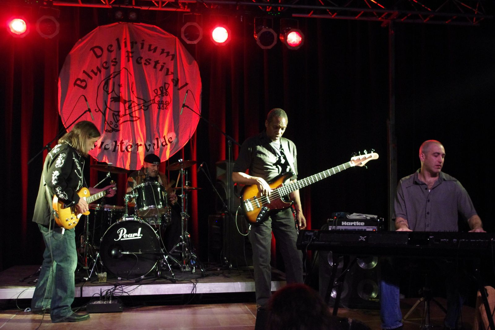 Neal Black & The Healers - 19 avril 2014 - Delirium Blues festival, Lichtervelde (B)