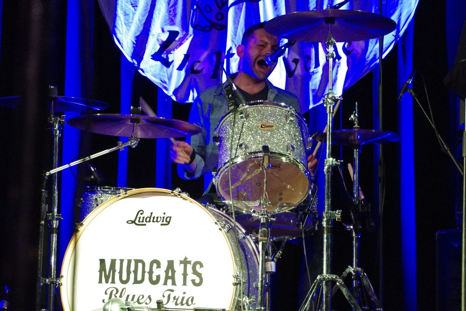 Mudcats Blues trio feat. Greg Copeland - 19 avril 2014 - Delirium Blues festival, Lichtervelde (B)