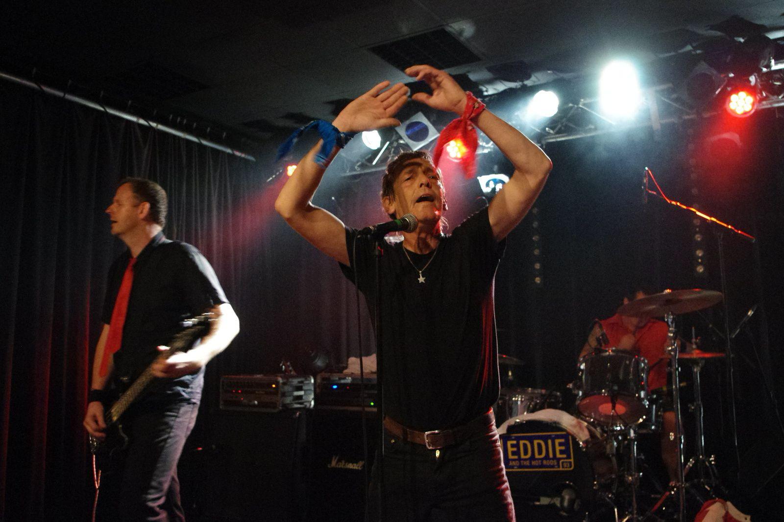 Eddie & The Hot Rods - 29 avril 2014 - La Boite à Musiques, Wattrelos (59)