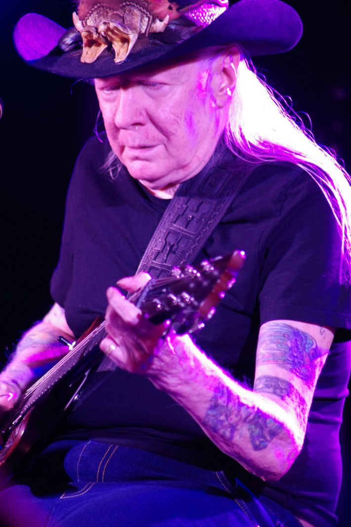 Johnny Winter Band - 31 mai 2014 - Duvel Blues, Puurs (B)