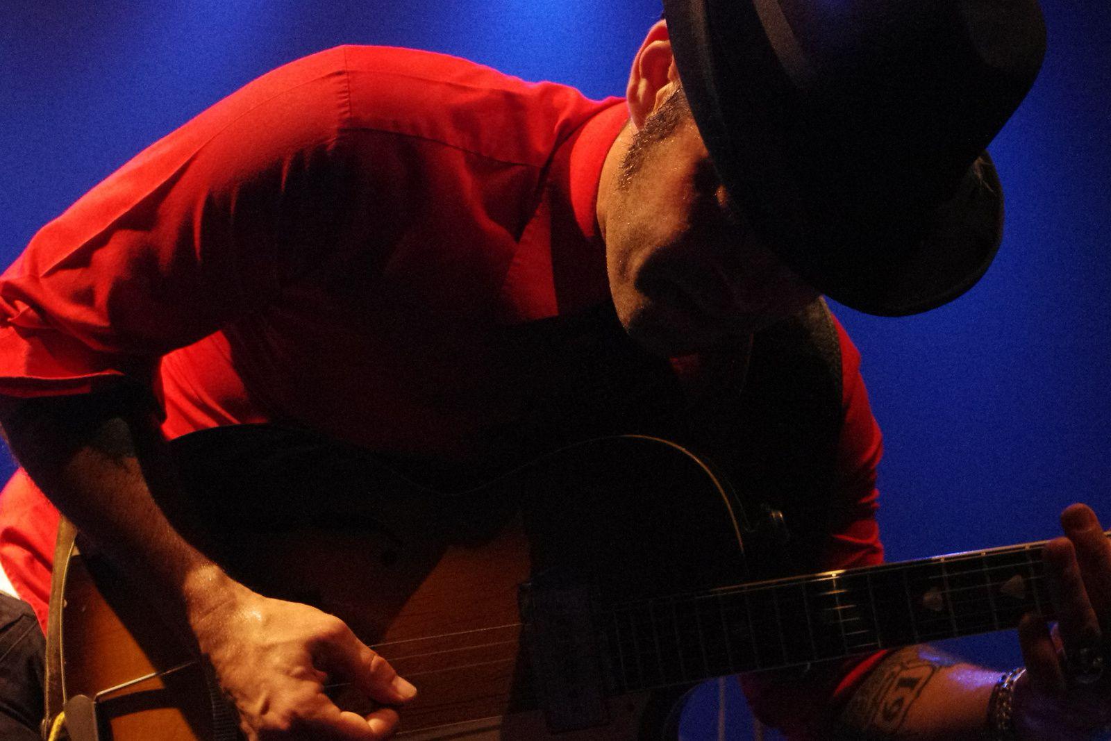 Manu Lanvin & The Devil Blues - 13 juin 2014 - Espace Athena, St saulve (59)