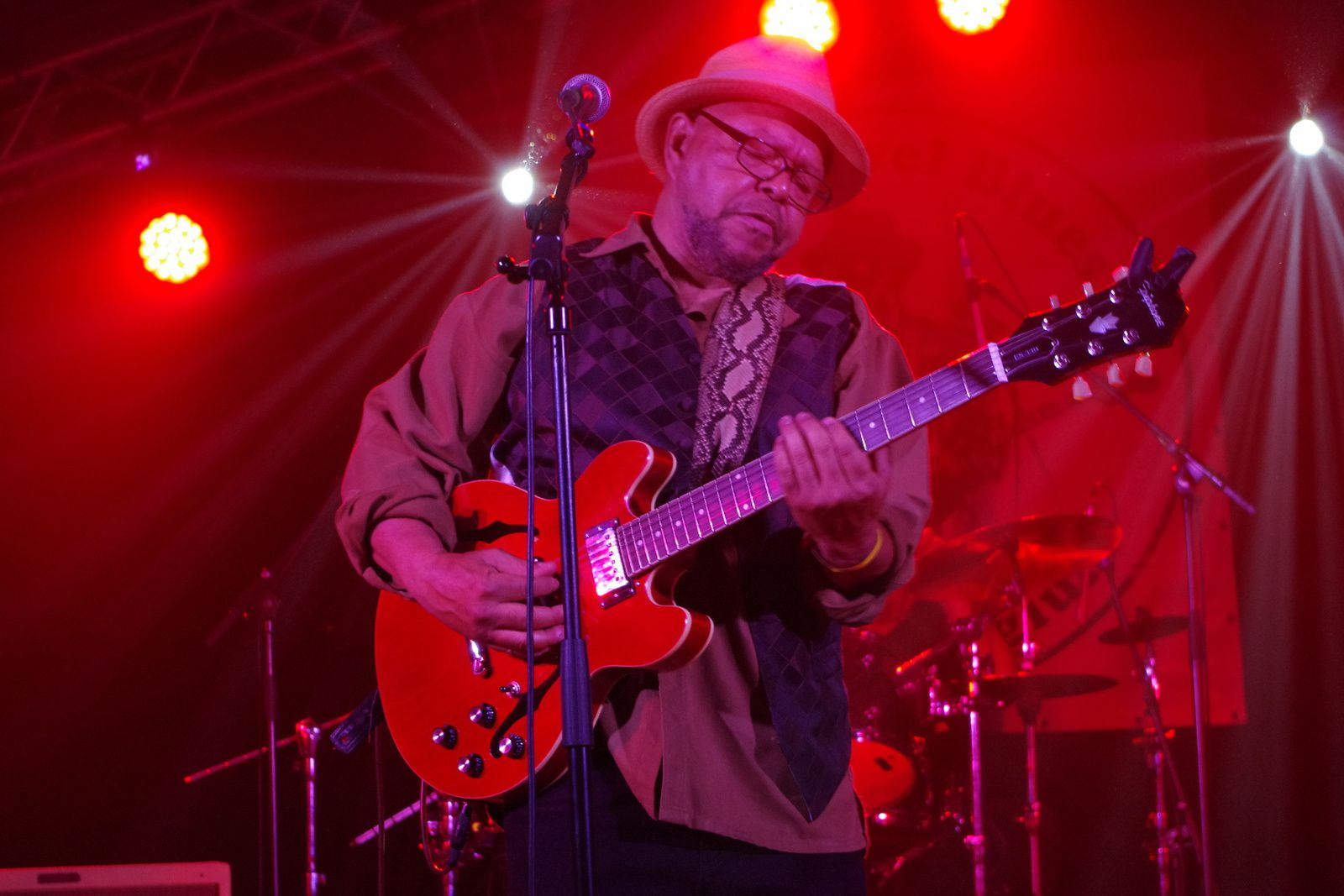 Larry Garner and the Norman Beaker band- 31 mai 2014 - Duvel Blues, Puurs (B)