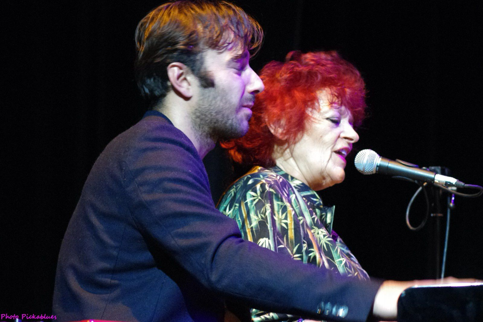 Dana Gillespie - 14 février 2015 - Seven Nights to Blues, Saint André lez Lille (59)