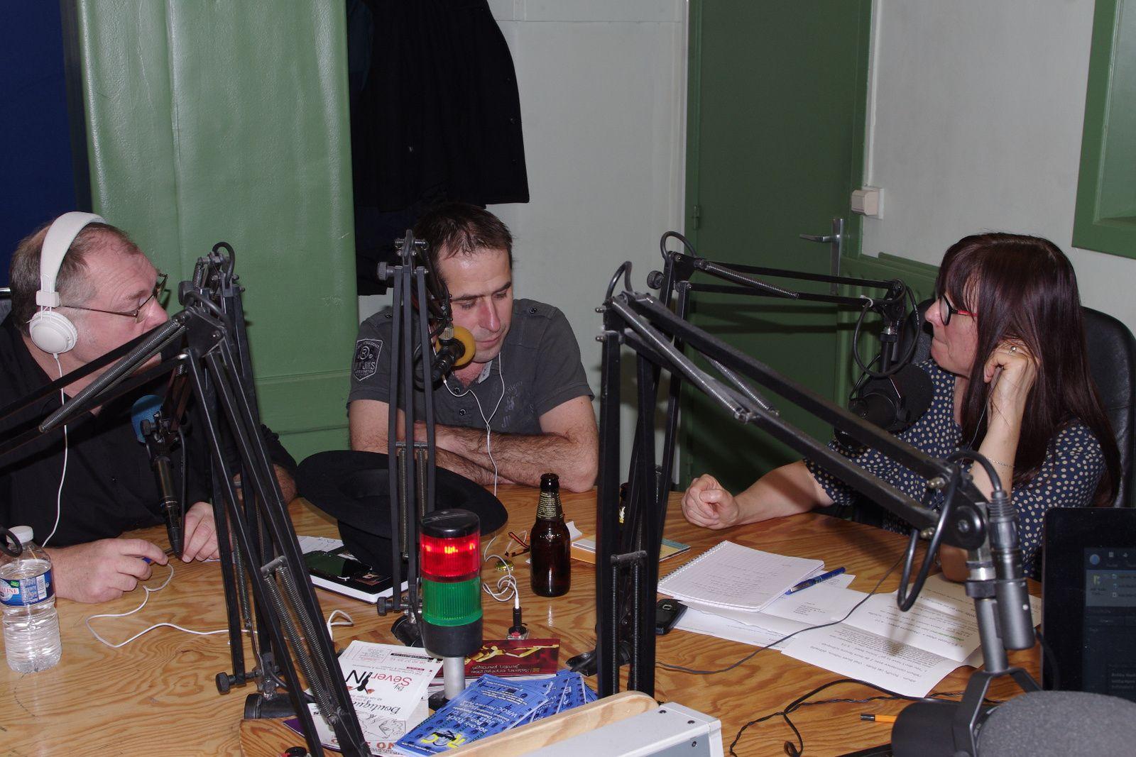 Laurent & Jean Philippe de Broken Back Daddy en studio à RQC
