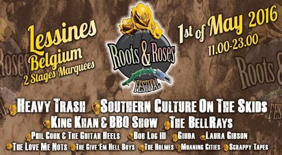 Playlist & podcast Tellin'You – 14 avril 2016 – spéciale Roots & Roses - RQC95FM – www.rqc.be