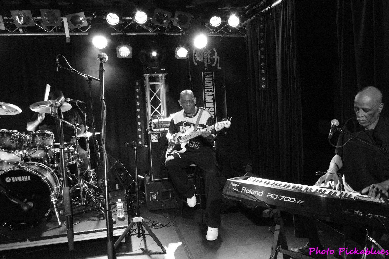 Big James & The Chicago Playboys - 30 avril 2017 - La Boite à Musiques, Wattrelos (59)