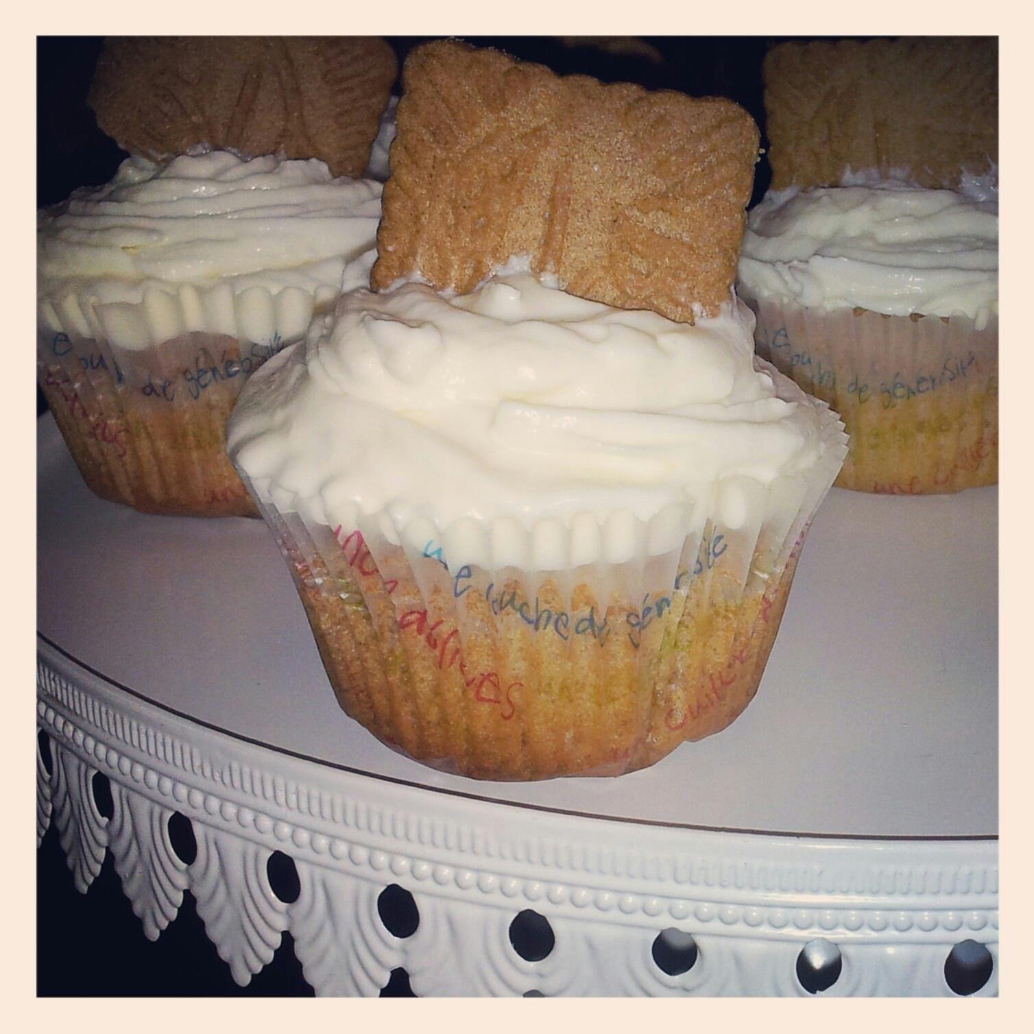 Cupcakes au spéculoos