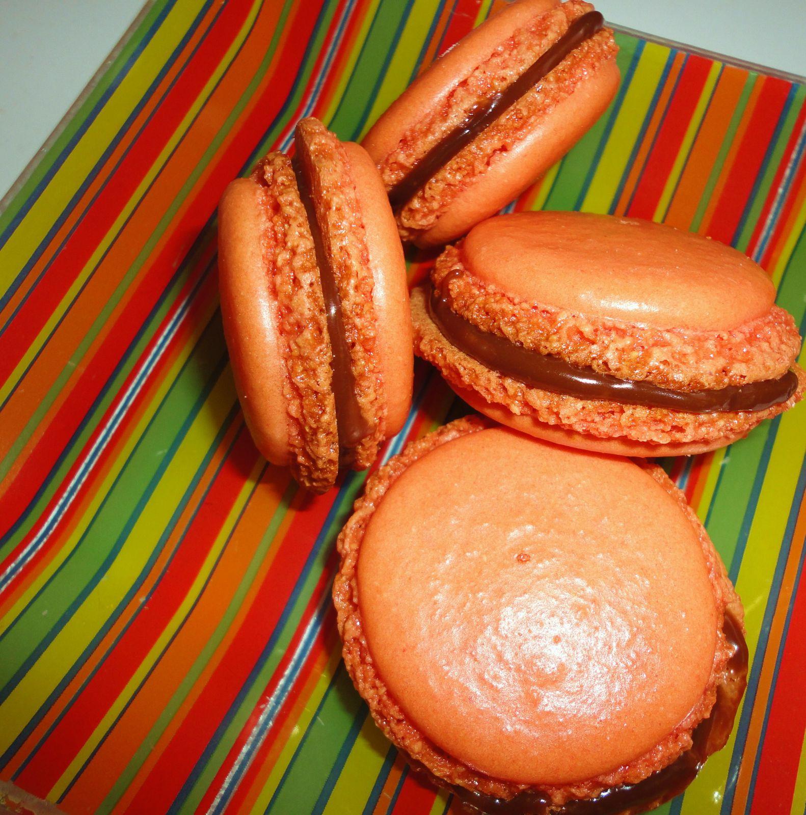 Macarons au Toblerone