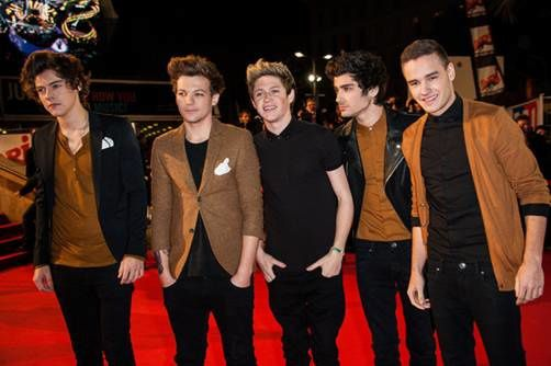One Direction : meilleur groupe international de l'année aux NRJ Music Awards.