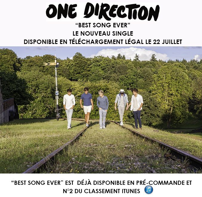 One Direction, nouveau single : 'Best Song Ever'.