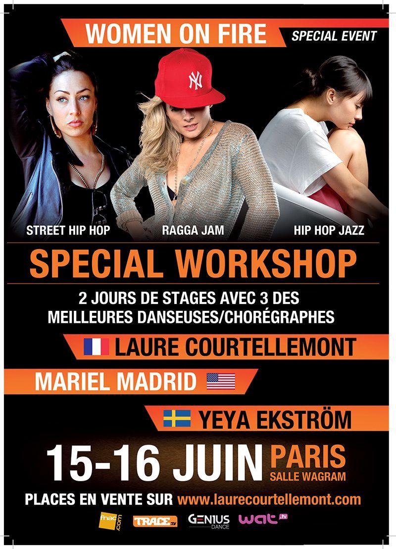 La danseuse Laure Courtellemont sera à Paris les 15 et 16 juin pour un évènement de danse unique à la Salle Wagram