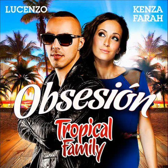 « Obsesion » d'Aventura est francisé par Lucenzo et Kenza Farah du Collectif Tropical Family.