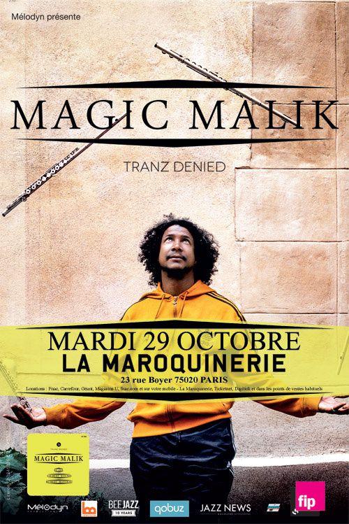 """Magic Malik. L'album """"Tranz Denied"""" est sortie le 12 septembre chez Bee Jazz. En concert à la Maroquinerie le 29 octobre 2013."""