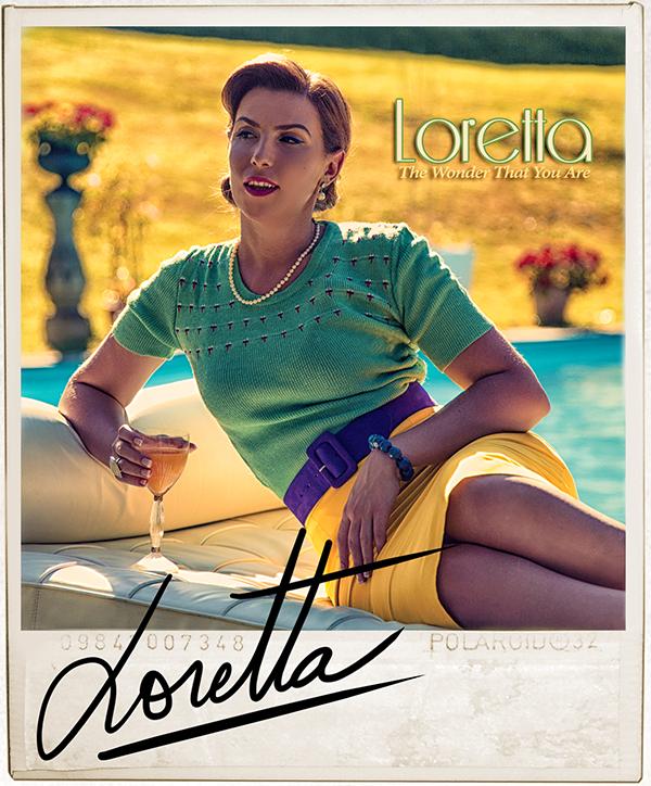 """Loretta, premier single """"The Wonder That you are"""". Sortie de l'album """"Find a way"""" en décembre 2013."""