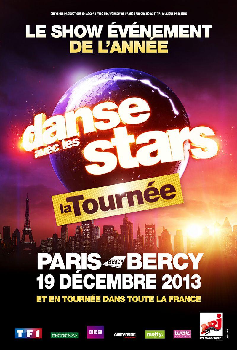 """Du 19 décembre au 23 février, """"Danse avec les stars"""" partira en tournée dans toute la France."""