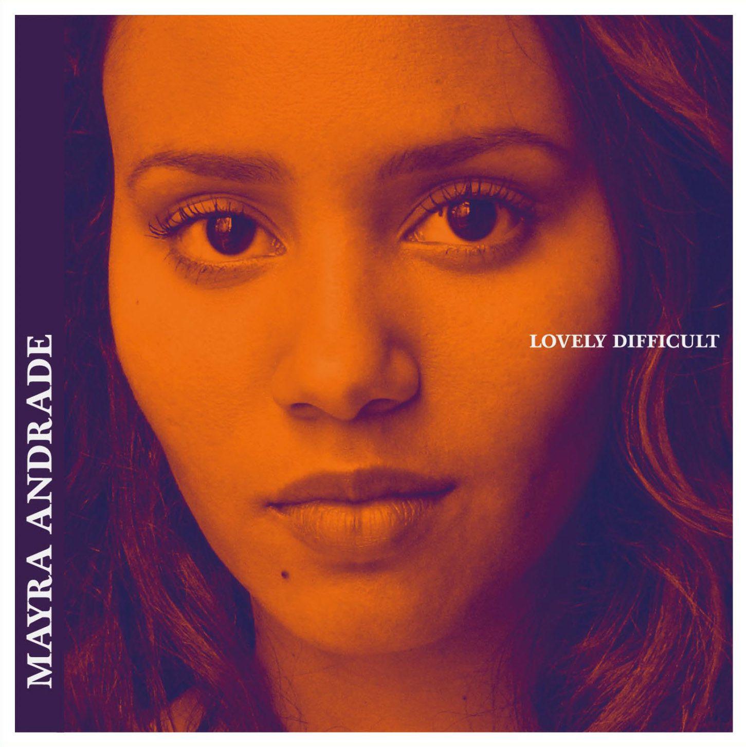 """Pochette de l'album """"Lovely Difficult"""" de Mayra Andrade."""