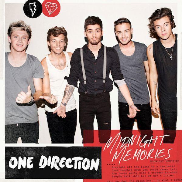 Les One Direction présentent leur nouveau single « Midnight Memories », extrait de leur 3ème album du même nom. CD MAXI. Sortie digitale et physique le 9 mars 2014.