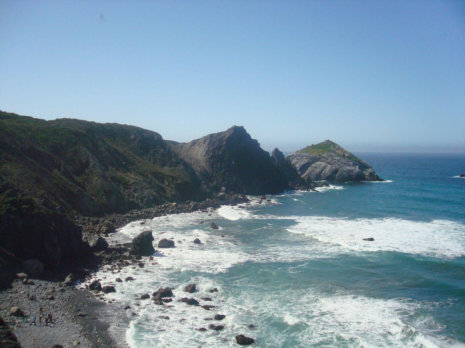 Une belle image de la côte avant la petite vidéo sur fb :)