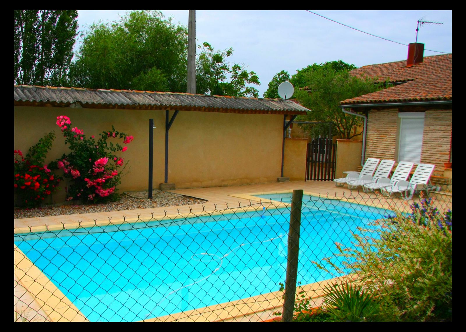 Photo maison tombeboeuf location de vacances en lot et for Location maison avec piscine lot et garonne
