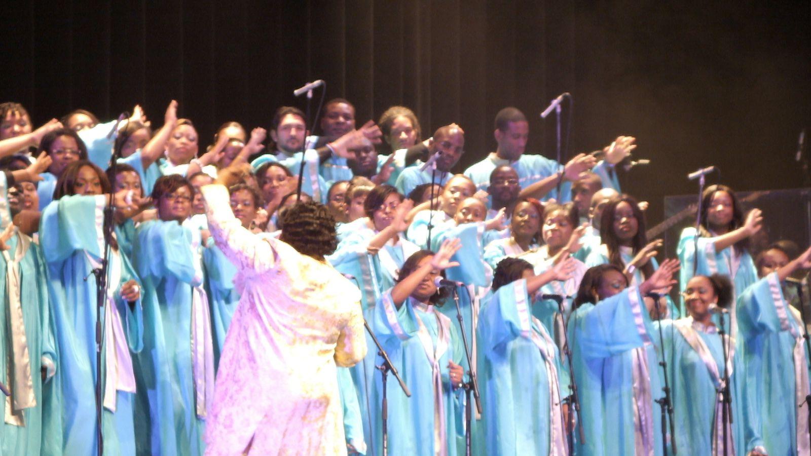 Festival Gospel 2012 - Deitrick Haddon & Total Praise Mass Choir