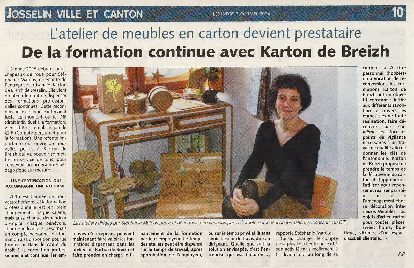 revue de presse karton de breizh. Black Bedroom Furniture Sets. Home Design Ideas