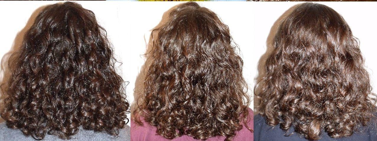Meches miel cheveux boucles