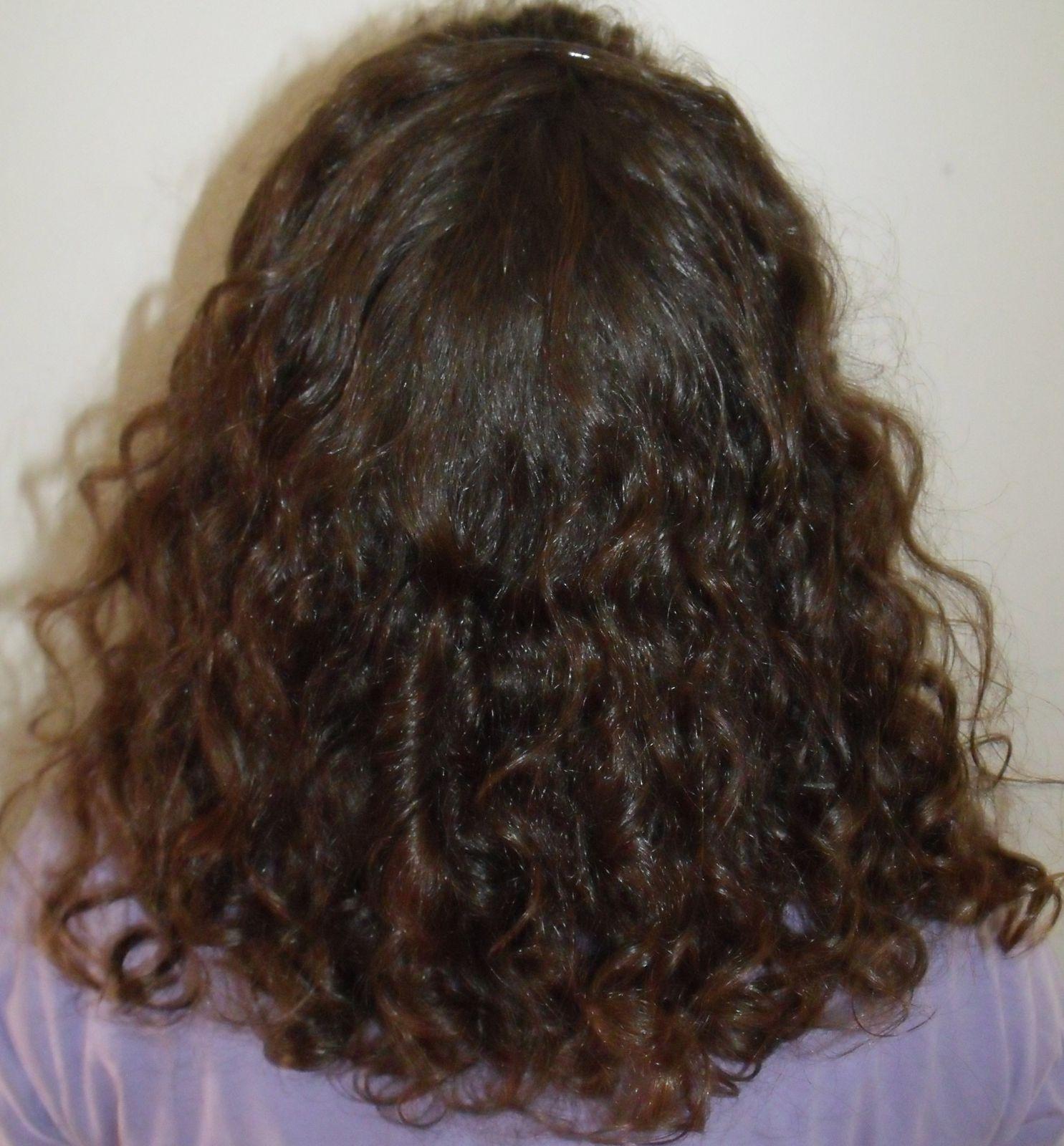 Mes cheveux actuels