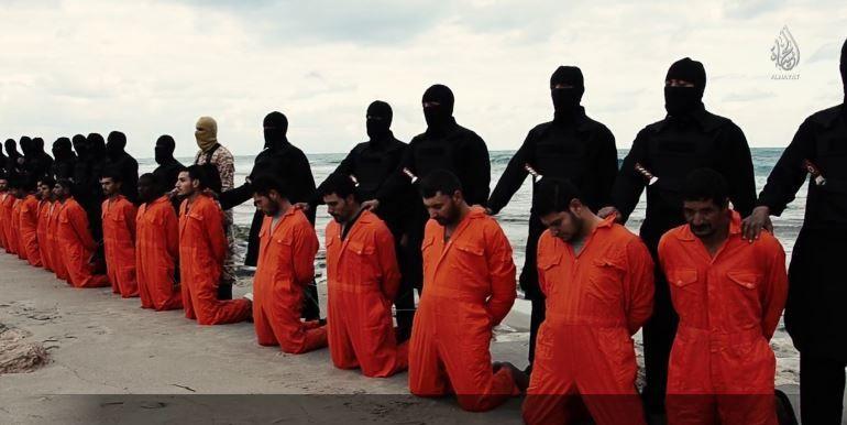 21 Coptes assassinés pour leur foi chrétienne par l'Etat islamique, en Libye