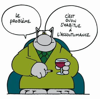 Raisons de venir Les addictions (tabac, alcool, drogue, internet, ...) (29.01.2014)