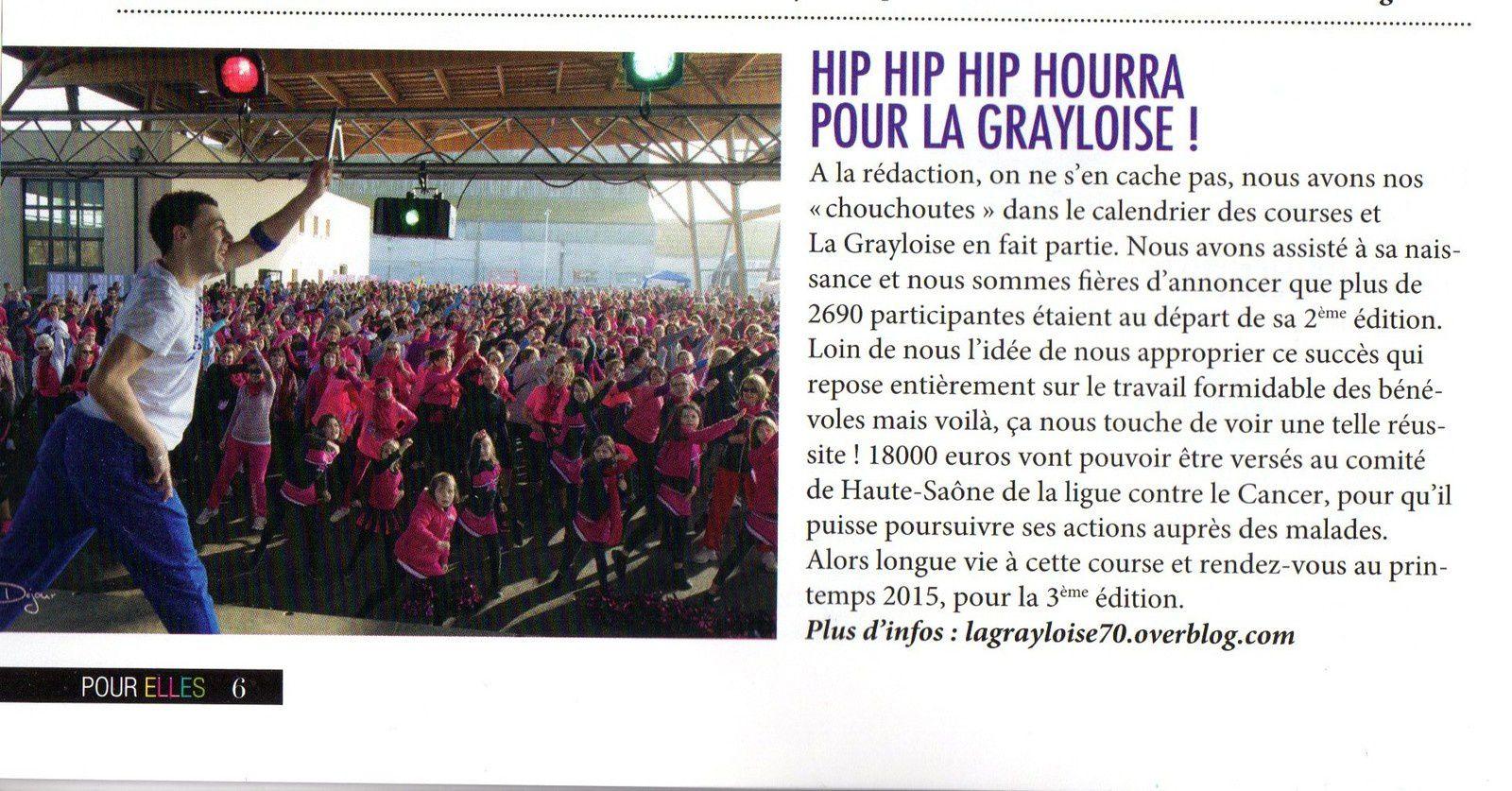 LA GRAYLOISE 2ème édition dans Running Pour ELLES