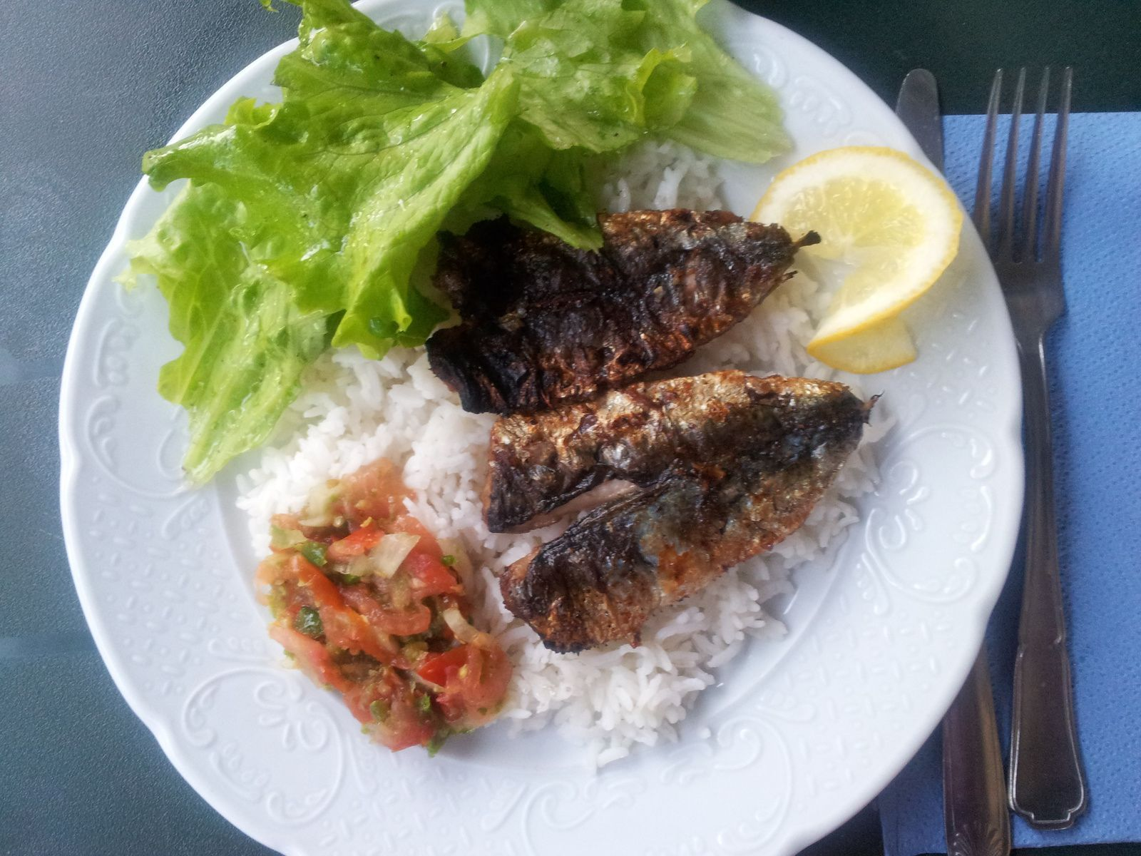 Sardines grill es for Overblog cuisine