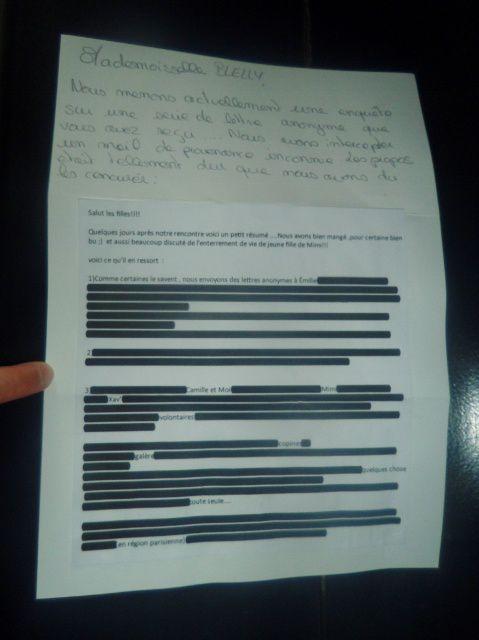lettre anonyme suite