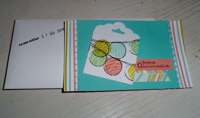 carte calendrier anniversaire Stéphanie!!!!