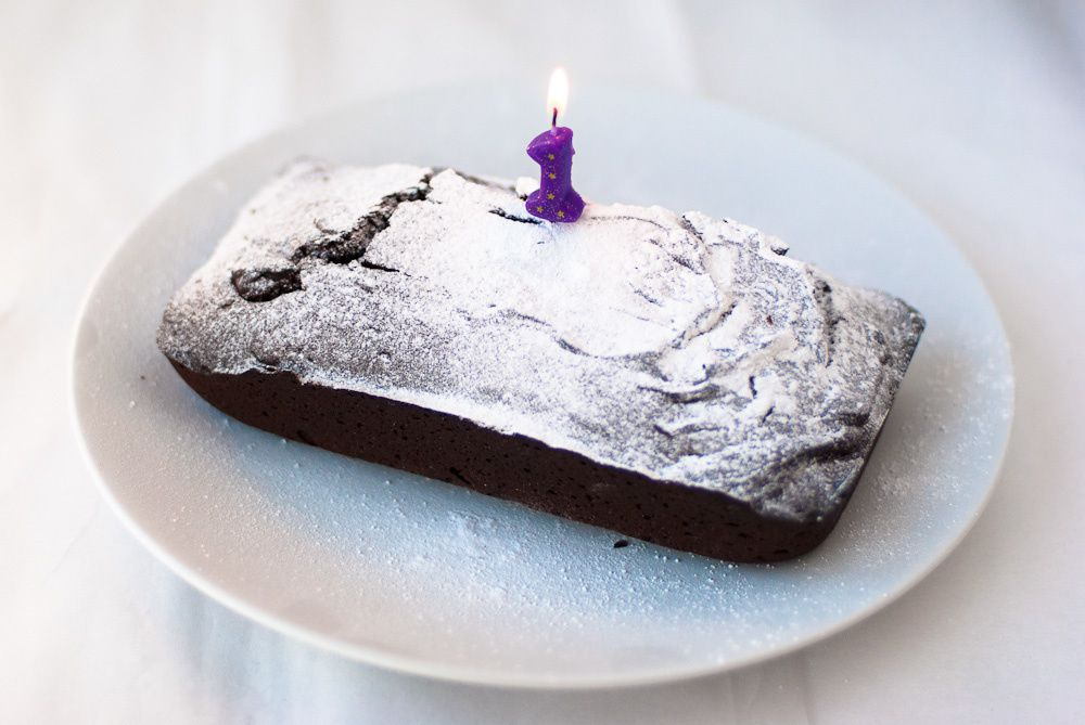 A Birthday Chocolate Cake