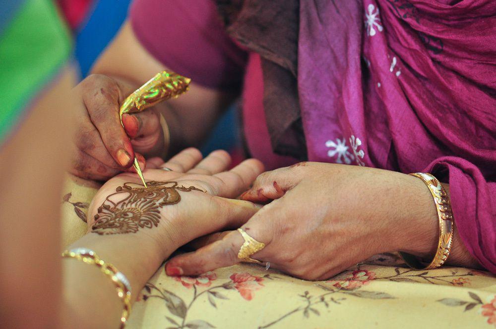 My Mehendi Ceremony
