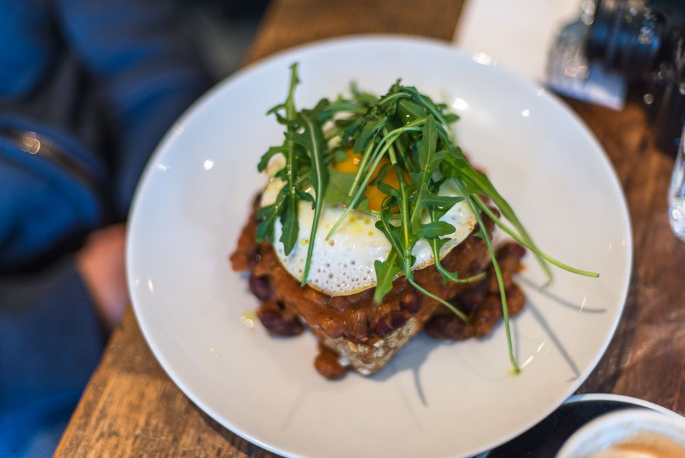 Brunch at Caravan Exmouth Market