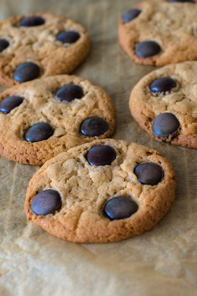 Chocolate Chip & Minstrels Cookies