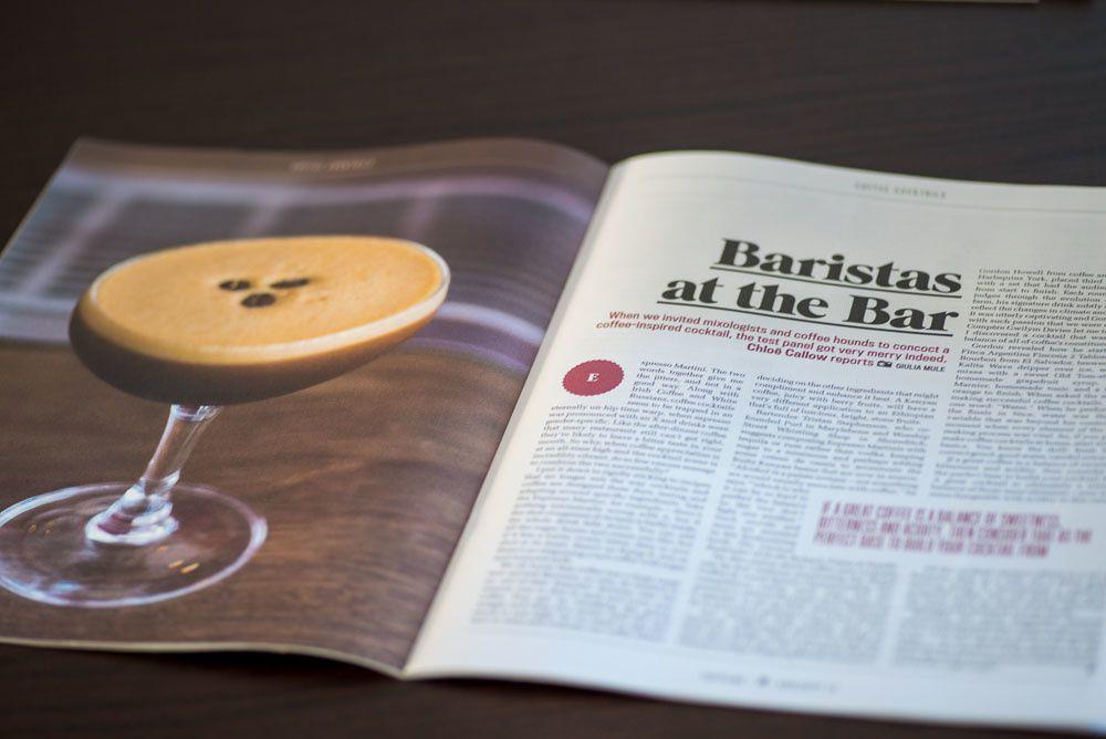 Coffee Cocktails for Caffeine Magazine