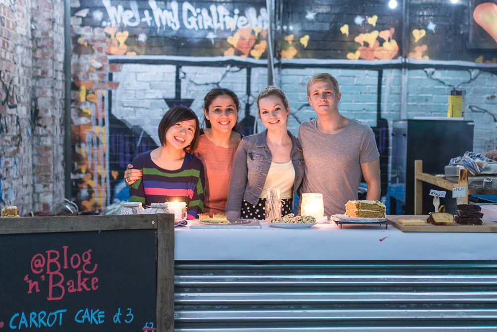 Blog 'n' Bake at Street Feast