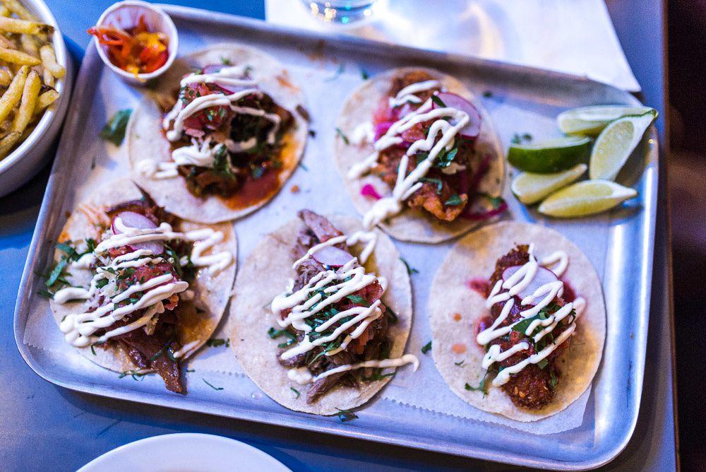 Breddos Tacos at Slider Bar