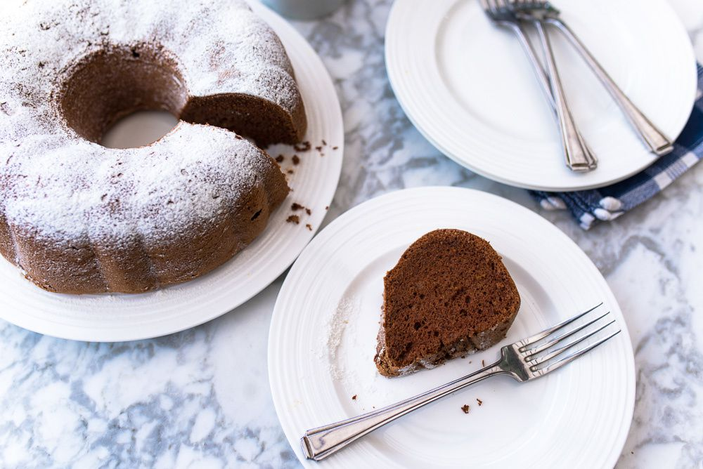 Chocolate Angel Food Cake - Mondomulia