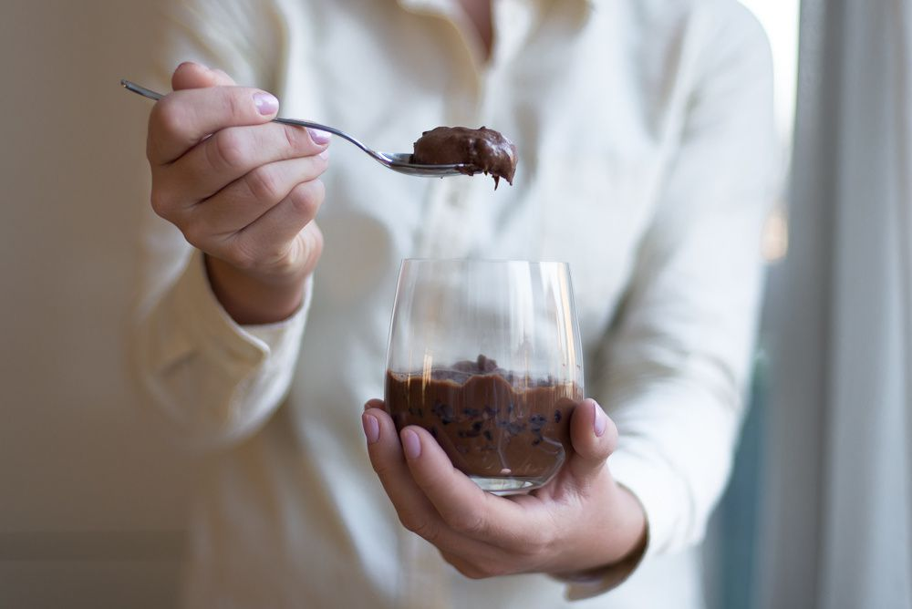 Rachel Khoo's Chocolate Mousse with Cacao Nibs