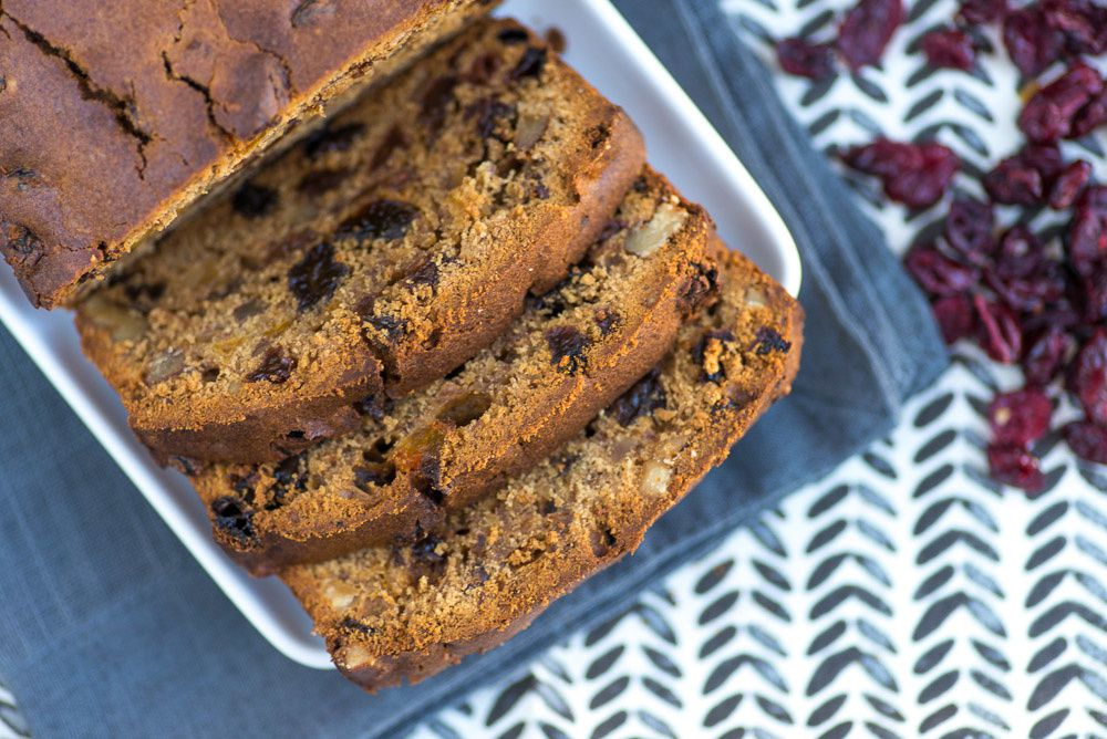 is fruit and fibre healthy healthy fruit loaf recipe