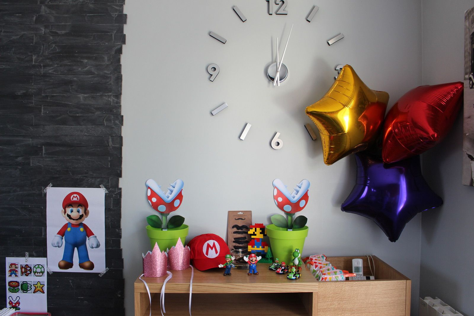 gateau mario. Black Bedroom Furniture Sets. Home Design Ideas