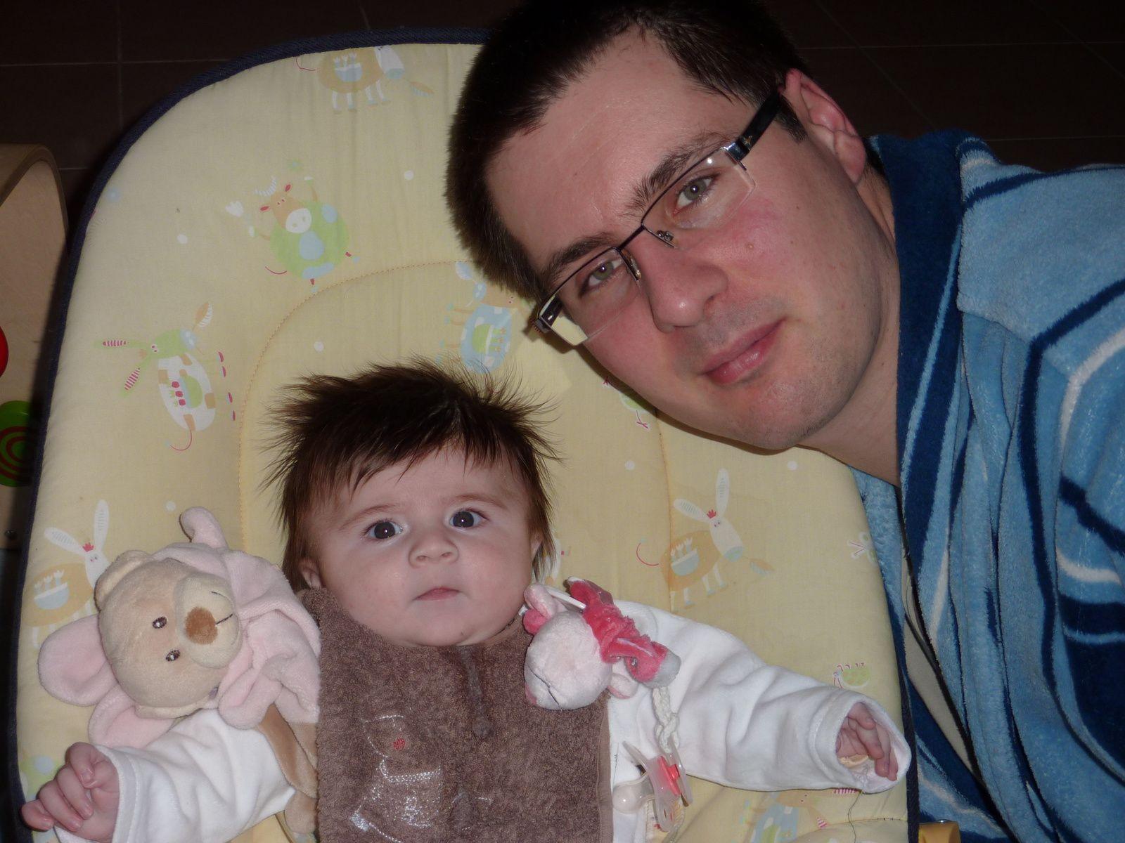Ellie-Anna et papa