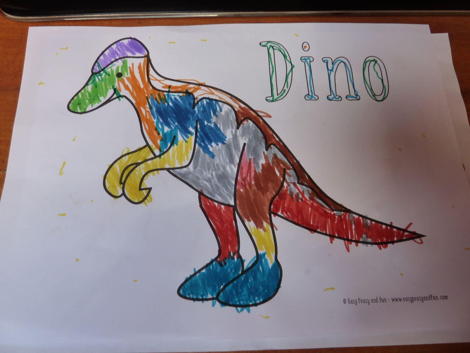Nos deux dernières semaines et dernière session des dinosaures