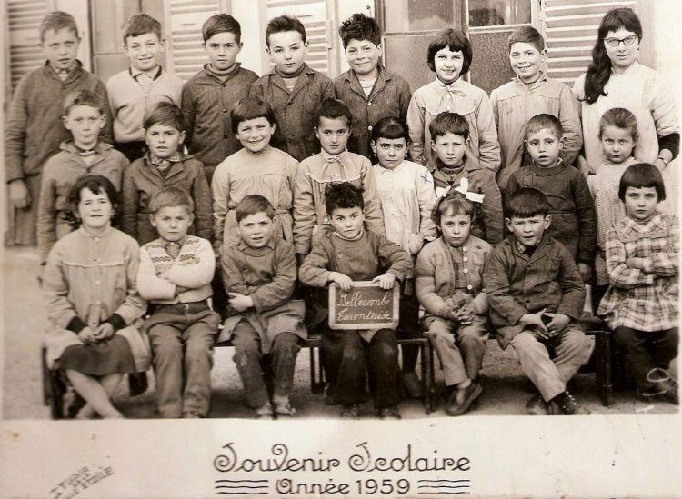Bellecombe 1959 les petits