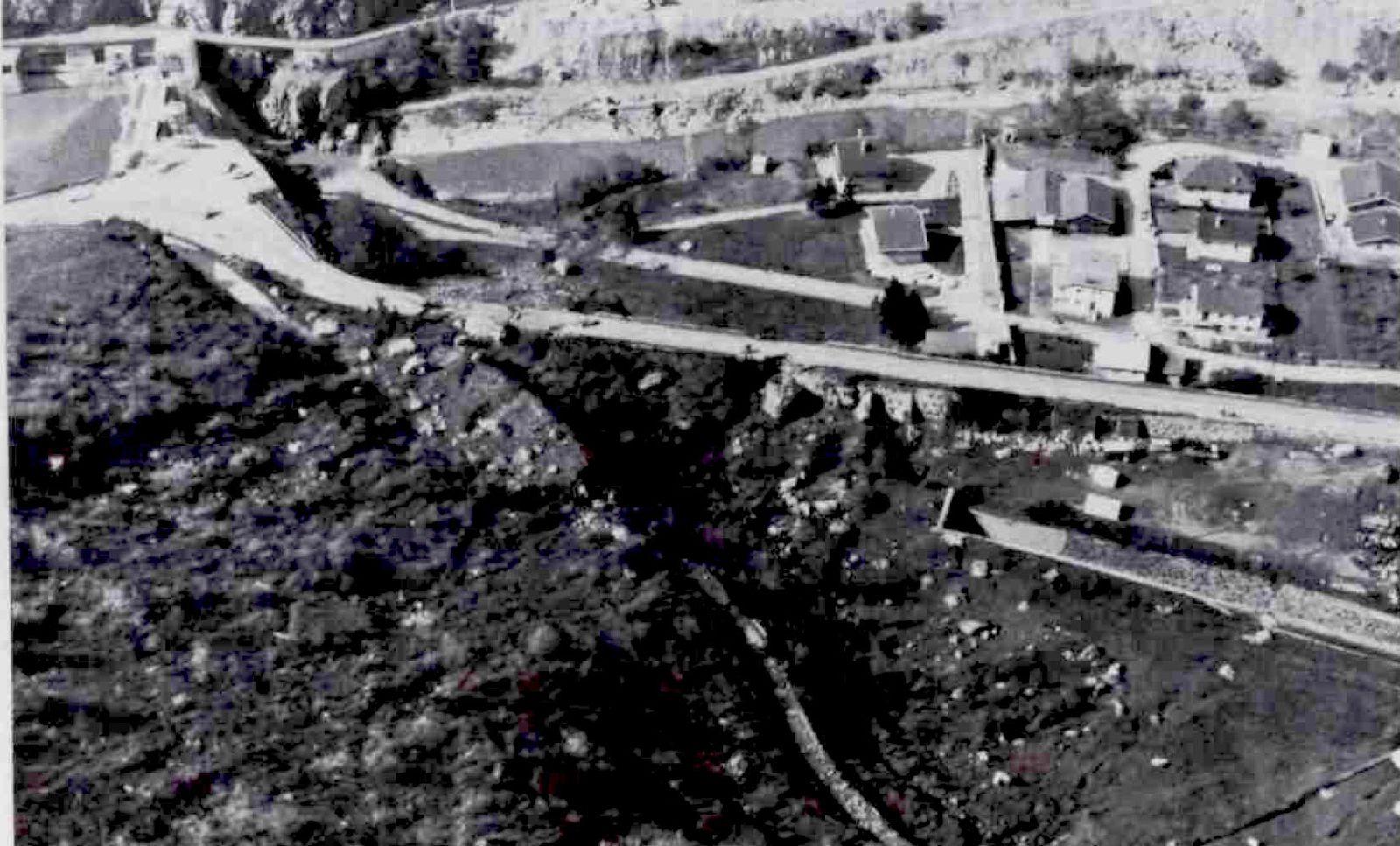 l'éboulement de Rocheplate du 1 mai 1977