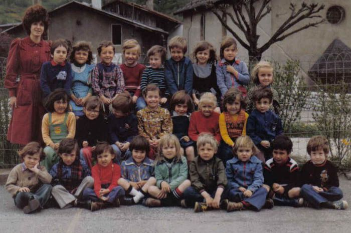 Bellecombe 1977 maternelle