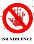 au sujet de la violence...